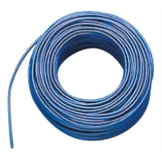 Aderltg., H07V-K 6,0, blau flexibel, 100m Ring
