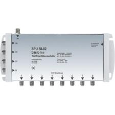 Multiswitch 5 in 8 ext. Steck.netzteil basic-line