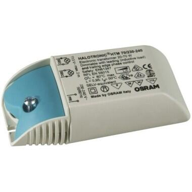NV-Trafo 20-70VA Osram-Mouse 108x52x33mm, HTM  dimmbar