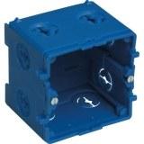 1-fach Kabelkanal-Gerätedose für 60x110/150/190mm