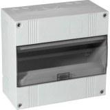 APV-Kasten,1-reihig, NL, IP30 m.transparenter Kunststofftüre