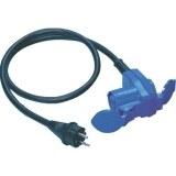 Adapterleitung 1,5m H07RN-F 3G2,5 qmm schwarz