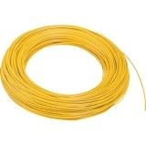 Aderltg., H05V-K 0,75, gelb flexibel, 100m Ring