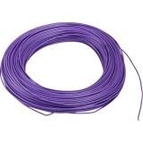 Aderltg., H05V-K 0,75, violett flexibel, 100m Ring