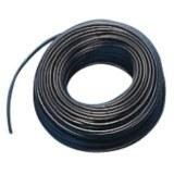 Aderltg., H05V-K 1,0, sw flexibel, 100m Ring