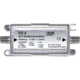 BK-SAT-Leitungsverstärker 950-2200MHz,Anschlüsse F-Tech.