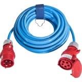 CEE-Verl. H07BQ 5G2,5, 10m 16A, 400V, 5-polig, 6h, blau