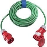 CEE-Verl. H07BQ 5G2,5, 10m 16A, 400V, 5-polig, 6h, grün