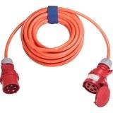 CEE-Verl. H07BQ 5G2,5, 10m 16A, 400V, 5-polig,6h,l-orange
