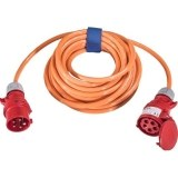 CEE-Verl. H07BQ 5G2,5, 10m 16A, 400V, 5-polig, 6h,orange