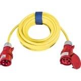 CEE-Verl. H07BQ 5G2,5, 25m 16A, 400V, 5-polig, 6h, gelb