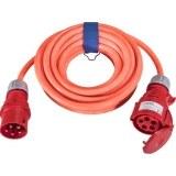 CEE-Verl. H07BQ 5G4, 10m 32A, 400V, 5-pol., 6h,l-orange
