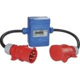 EASYCOUNT 3,400V,16A,blau CEE-Stecker u. -Kuppl. 5-polig