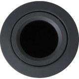 Einbaustrahler schwenkbar schwarz, 50 W ohne Clipring