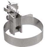 """Erdungs-Bandschelle 1/8-1 1/2 """" Länge 200mm, 3,2-38mm Durchm."""