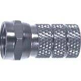 F-Stecker f.Kabel Durchm:6,5mm