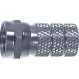 F-Stecker für Ø 7,4 mm