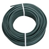 Flachleitung H05RNH2-F 2x1,5 Illuleitung grün, Meterware