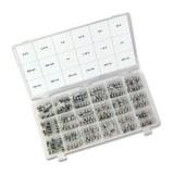 G-Schmelzeinsatz-Sort. 180Stck 5x20mm, träge, 0,16-10,0A