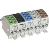 H-Abzwg.kl. 35mm² 1-pol 400V grau, 2 x 35mm² u. 2 x 25mm²