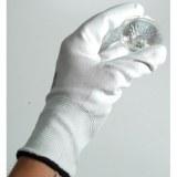Handschuh PU- teilbeschichtet weiß, nach EN 388, Größe 8 (L)