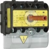 Haupt-Not-Aus-Schalter rt/gb 25A trennend, 3-polig, für Hut