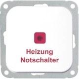 Heizungs-Notschalter 10/16A alpinweiss, Steckklemmen