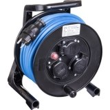 JumboXS-Kabeltrommel 25m H07RN-F 3G1,5 qmm blau