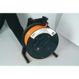 Jumbo-Kabeltrommel 40m H07BQ-F 3G2,5 qmm orange