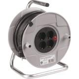 Kunststoff-Kabeltrommel 25m H05VV-F 3G1,5 qmm schwarz