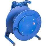 Kunststoff-Leertrommel blau mit geschlossener Platte