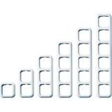 OPUS-BASIC Rahmen, 2-f., aw