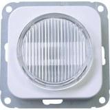 OPUS-Lichtsignal transparent mit Haube und Abdeckrahmen
