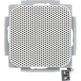 OPUS-UP-Lautsprecher mit Ab- deckung, alpinweiss