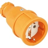 SIROX-Profi-Gummikupplung IP20, orange, Polyamideinsatz