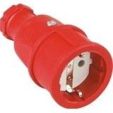SIROX-Profi-Gummikupplung IP20, rot, Polyamideinsatz