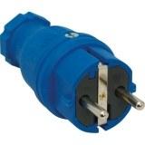 SIROX-Profi-Vollgummi-Stecker IP44, blau