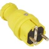 SIROX-Profi-Vollgummi-Stecker IP44, gelb