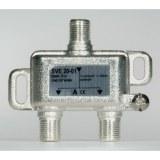 Stammleitungsverteiler, 2-fach für SAT-Anlagen, F-Technik