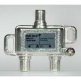 Stammleitungsverteiler, 2-fach mit Richtkoppler, F-Technik