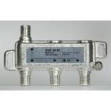 Stammleitungsverteiler, 3-fach für SAT-Anlagen, F-Technik