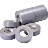VDE-PVC-Isolierband, grau Stärke=0,15mm, Breite=15mm,