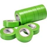 VDE-PVC-Isolierband, grün Stärke=0,15mm, Breite=15mm,