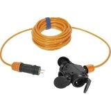 Verl. H07BQ-F 3G1,5 5m orange VG-3-f.Kupplung + VG-Stecker