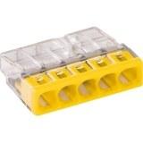 WAGO-Steckklemme 2x0,5-2,5mm²