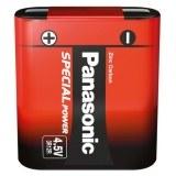 """Zink Kohle Flach-Batterie 4,5V Red Zinc  """"Flachmann """""""