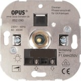 elektron. Glühlampen-Dimmer 60-400W, 230V,50Hz, Schraubkl.