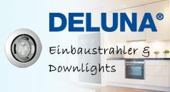 DELUNA Einbaustrahler und Downlights