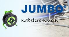 JUMBO Kabeltrommeln - hochwertig & bruchsicher