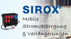SIROX - Mobile Stromversorgung und Verlängerungen